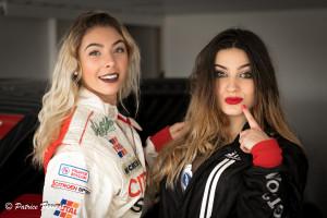Les filles aussi participent aux stages de pilotage JB EMERIC